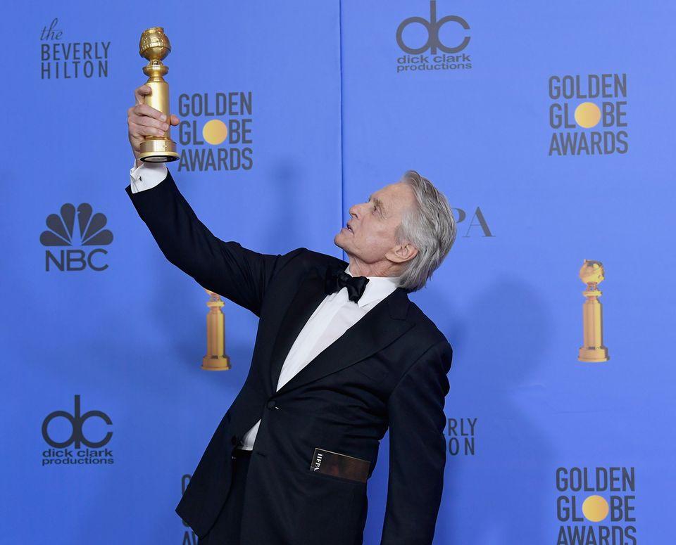 """Altmeister Michael Douglas heimst einen Golden Globe, den bereits vierten,für seine Hauptrolle in der Comedy-Serie """"The Kominsky Method"""" ein."""