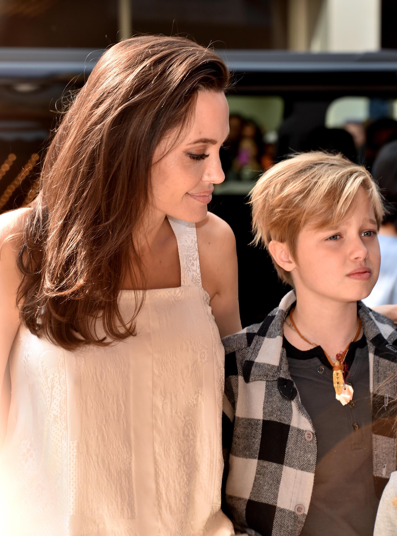 Angelina Jolie mit Tochter Shiloh Jolie-Pitt