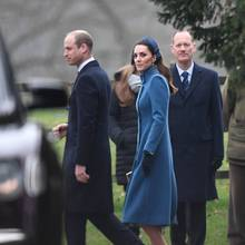 Prinz William und Herzogin Catherine am 6. Januar 2019 in Sandringham