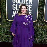 Als süßes Sternchen ist Melissa McCarthy zu den Golden Globes gekommen.