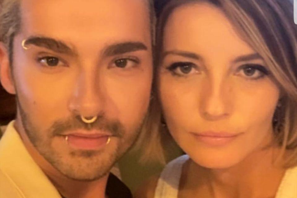 Bill Kaulitz und Stylistin Sara Alviti