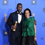 Auch wennMahershala Ali der Golden-Globe-Gewinner ist, hat seine FrauAmatus Sami-Karim auf jeden Fall den Preis für extravaganten Style gewonnen.