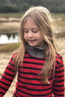 8. Januar 2019  Prinzessin Josephinescheint noch etwas schüchtern ...