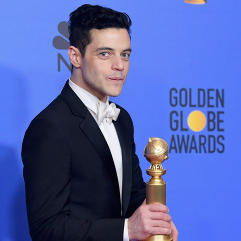 """Für seine Hauptrolle im Film """"Bohemian Rhapsody"""" erhält Rami Malek den Golden Globe"""