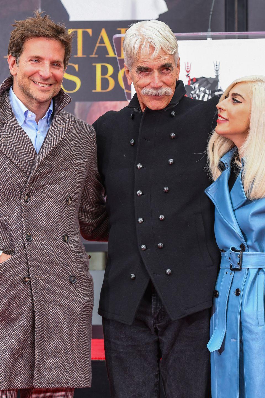 7. Januar 2018  ... Bradley Cooper und Lady Gaga sind als prominente Unterstützung bei dem Termin mit dabei.