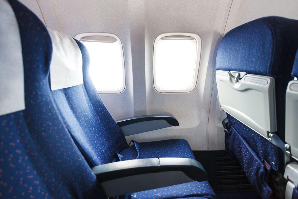 Flugzeug Innenraum
