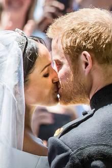 Am 19. Mai 2018 gaben ich Herzogin Meghan und Prinz Harry das Jawort
