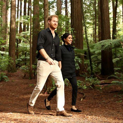 Prinz Harry und Herzogin Meghan lieben das Leben auf dem Land