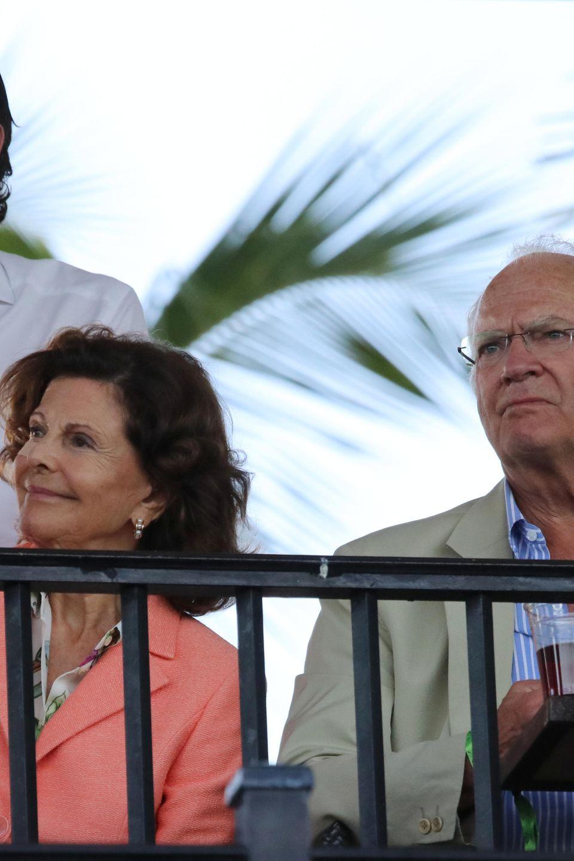 Prinz Carl Philip, Königin Silvia und Könog Carl Gustaf