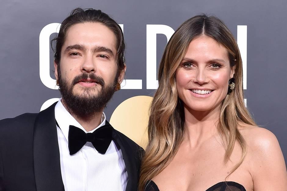 Heidi Klum Und Tom Kaulitz Verlobt Sie Tragt Schon Schleier