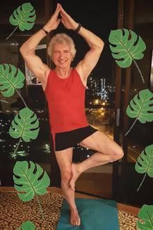 """Über Instagram zeigt sich Schlager-Star Peter Orloff optimistisch:""""Warm up für den großen Tag! Bald gehts los. Ich wünsche uns allen eine tolle Zeit und freue mich auf Freitag! Ihr auch? Ich bin bereit!"""""""