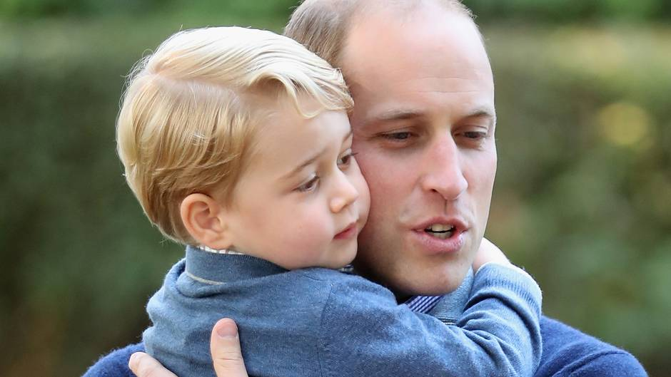 Prinz George und Prinz William