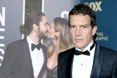Tom Kaulitz (l.) und Heidi Klum sind schwer verliebt, Antonio Banders nervt's