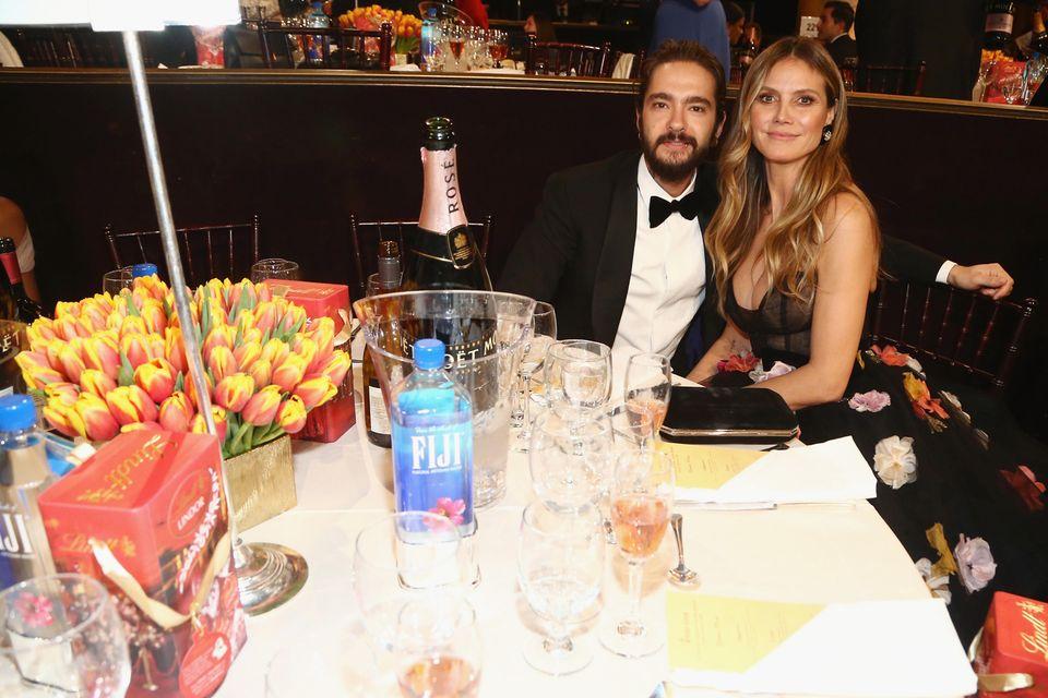 """Tom Kaulitz und Heidi Klum - hier ganz brav - bei den """"Golden Globes"""""""