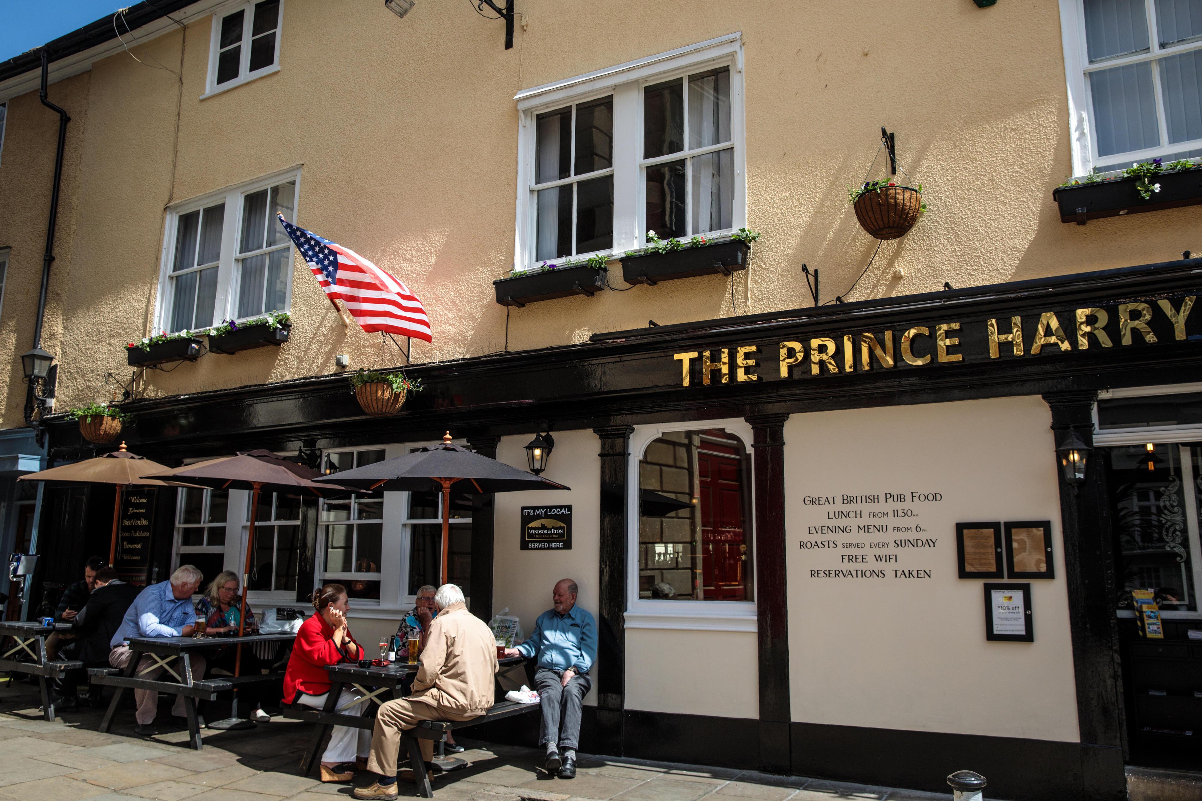 """Sollte Prinz Harry Lust auf ein Bier bekommen, kann er in dem nach ihm benannten Pub """"Prince Harry"""" in Windsor einkehren"""