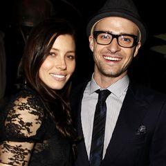 """Jessica Biel und Justin Timberlake geltenbereits in 2010 als eines der """"Hot Couples"""" Hollywoods. Da ahnt man wohl noch nicht, dass sie einst noch heißer aussehen würden."""