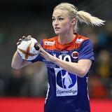 Handball WM 2019 : Die Norwegerin Stine Bredal Oftedal ist selbst auch Handballerin und beim ungarischen Verein Györi ETO KC unter Vertrag, Rune Dahmke spielt für den THW Kiel.