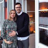 Handball WM 2019 : Aktuell ist Jenny schwanger und präsentiert stolz ihre wachsenden Babybauch. Schon bald ist das attraktive Paar zu dritt.