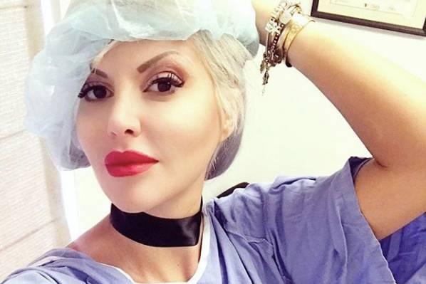 Sophia Vegas zeigt sich kurz vor einer ihrer zahlreichen Schönheits-Operationen.
