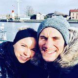 Handball WM 2019 : Uwe Gensheimer und Sandra Laukemann sind bereits verheiratet und haben ein Kind.