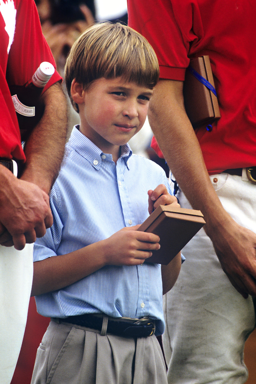 Prinz William, fünf Tage vor seinem neunten Geburtstag