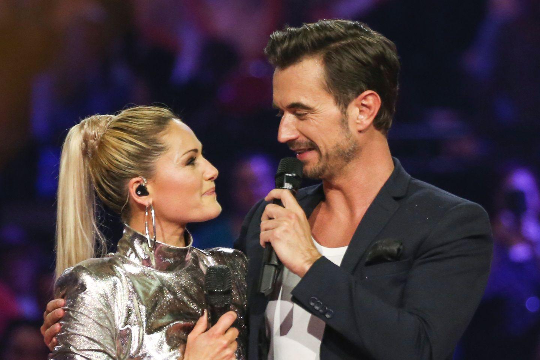 """Helene Fischer und Florian Silbereisen bei den """"Schlagerchampions - Das Fest der Besten"""" (Das Erste) am 12. Januar 2019"""