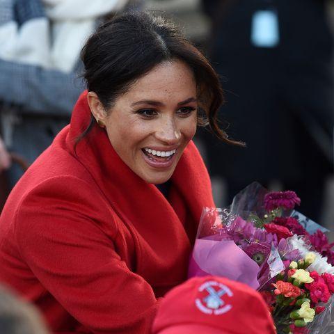 Herzogin Meghan verrät Gratulanten am 14. Januar, in welchem Monat der Schwangerschaft sie sich befindet