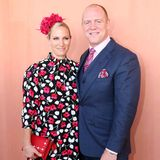 "Zara Phillips und Mike Tindall besuchen in Australien den ""The Star Gold Coast Magic Millions Raceday"". Dabei hat der Fotograf einen etwas ungünstigen Ausschnitt gewählt ..."