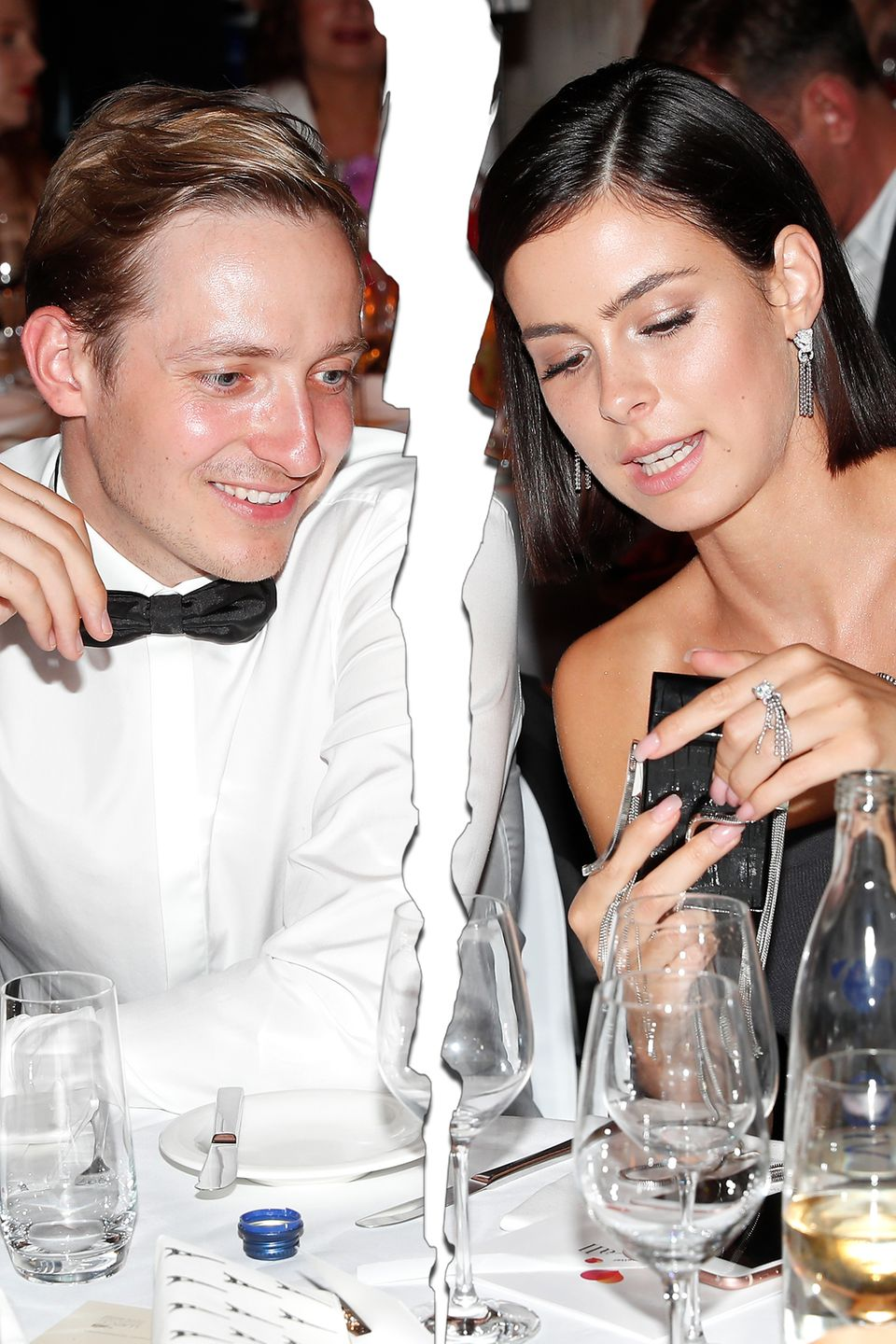Max von Helldorff and Lena Meyer-Landrut