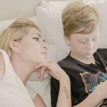 Sarah Kern und Romeo