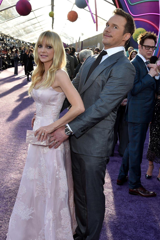 Anna Faris + Chris Pratt