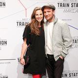 Annika und Frederick Lau wollensich die Fashion-Show von Marc Cain ebenfalls nicht entgehen lassen.