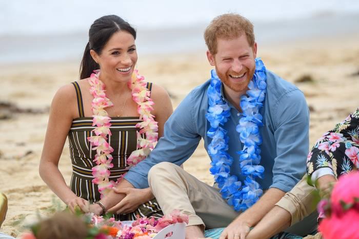Schwer verliebt: Herzogin Meghan und Prinz Harry am 19. Oktober 2018 am Bondi Beach in Sydney, Australien
