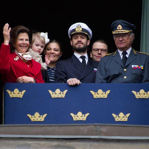 Königin Silvia, Prinzessin Victoria, Prinz Carl Philip, Prinz Daniel, König Carl Gustaf