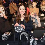Front-Row-Gast Anastasia Zampounidis freut sich schon auf die Show von Sportalm Kitzbühel.