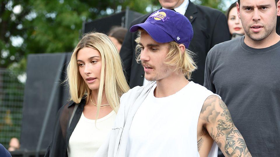 Hailey Bieber und Justin Bieber