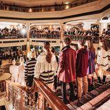 Mit dem Westin Grand Hotel hat sich DesignerMarcel Ostertag eine beeindruckende Kulisse für die Präsentation seiner neuen Kollektion ausgesucht.