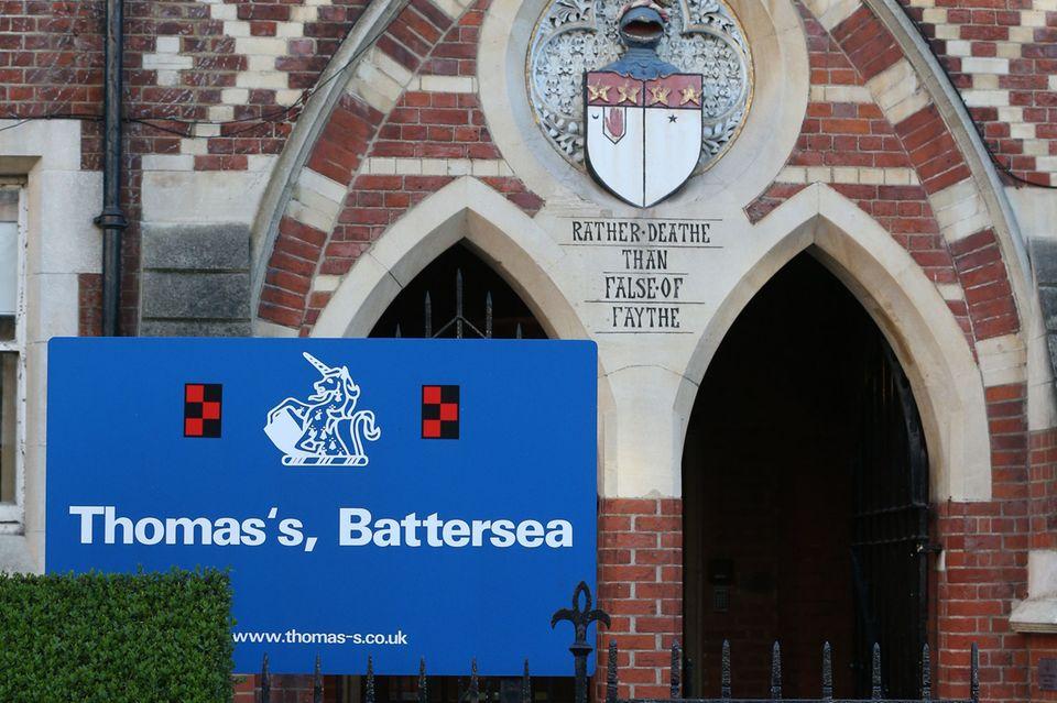 Seit 2017 besucht Prinz George die Thomas'sBattersea Schule