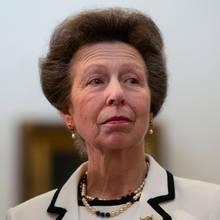 Prinzessin Anne, die einzige Tochter von Queen Elizabeth und Prinz Philip