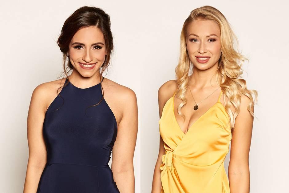 Die Ladies haben Mut bewiesen und gingen freiwiilig:Nathalie Zengin und Luisa Haimann