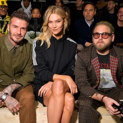 David Beckham, Karlie Kloss und Jonah Hill