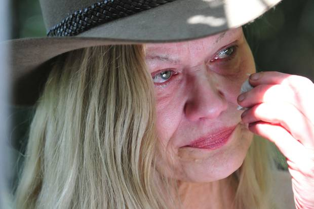 Sibylle Rauch kämpfte mit den Tränen