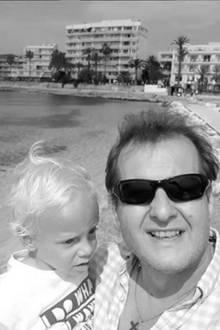 Diego Armani mit Papa Jens (†)