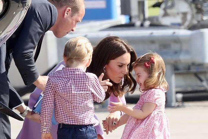 Prinz William, Prinz George, Herzogin Catherine, Prinzessin Charlotte