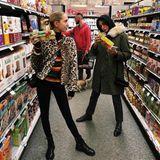 Prinzessin im Supermarkt: Anders als die britischen Royals trifft man Maria-Olympia auch beim Einkaufen an.