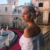 Seit 2014 ist Maria-Olympia ein gern gesehener Gast auf der Fashion Week in Paris und Mailand. Dolce & Gabbana entdeckt sie schließlich in 2017 als Model für den Runway.