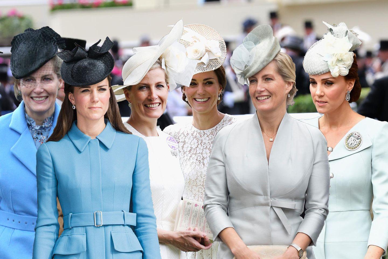 Gräfin Sophie von Wessex und Herzogin Catherine verstehen sich sowohl menschlich als auch modisch.