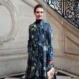 Natalia Vodianova darf auf keiner Fashion Week fehlen, erst recht nicht bei den Haute-Couture-Schauen.