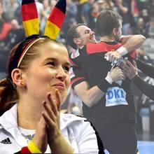 Handball WM 2019, Fabian Wiede, Spielerfrauen