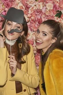 Victoria Swarovski undPaulina Swarovski bei der Rianista Soundtrack Party im Rahmen der Mercedes-Benz Fashion Week in Berlin